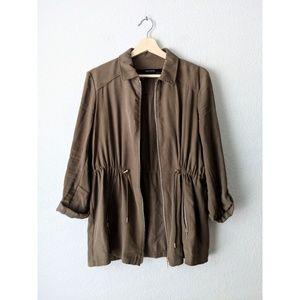 Zara Basic Collection Military Green Jacket